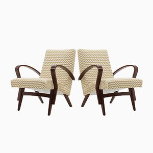 Lounge Chairs from Tatra, 1960s, Set of 2