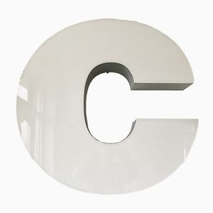Vintage Illuminated Letter C