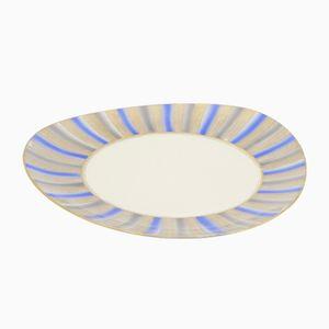 Porcelain Platter from Oscar Schaller Bavaria, 1950s