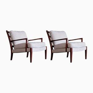 Löven Stühle von Arne Norell für Arne Norell AB, 1960er, 2er Set