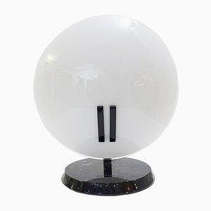 Lámpara de mesa Pearl grande de Bruno Gecchelin para Oluce, años 80