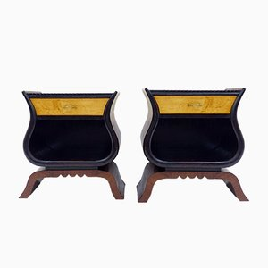 Italian Nightstands, 1970s, Set of 2