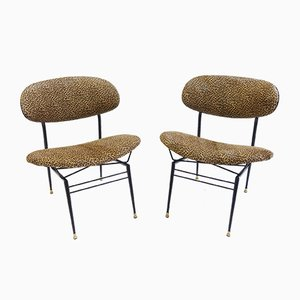 Italian Cocktail Chairs, 1950s, Set of 2