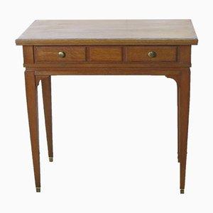 Tavolino in quercia, anni '70