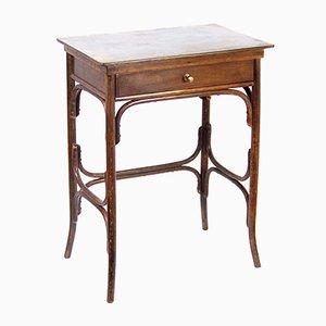 Mesa de costura modernista de Michael Thonet para Fischel, años 10