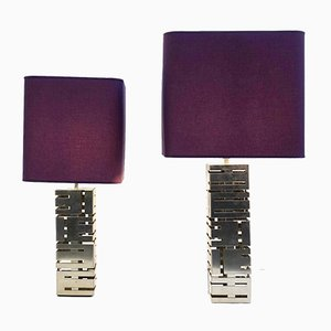 Lampes de Bureau par Max Sauze, Set de 2