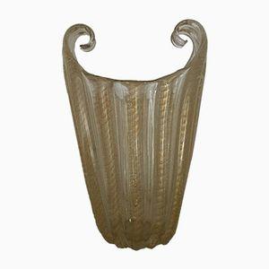 Vintage Vase aus Muranoglas von Barovier & Toso