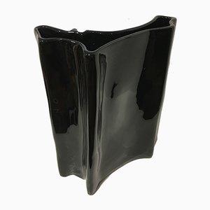 Vase aus Porzellan von Angelo Mangiarotti für Studio Superego, 1990er