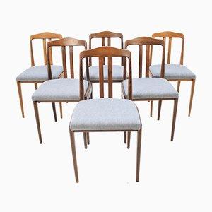 Dänische Esszimmerstühle, 1969, 6er Set