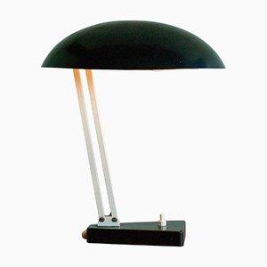 Lámpara de escritorio holandesa industrial vintage de H. Th. J. A. Busquet para Hala