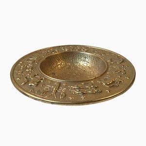 Cuenco vintage de bronce de Nordisk Malm, años 40