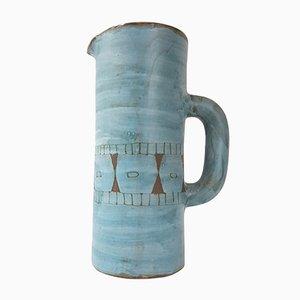 Französische Mid-Century Vallauris Krug aus Keramik von Alain Maunier, 1950er