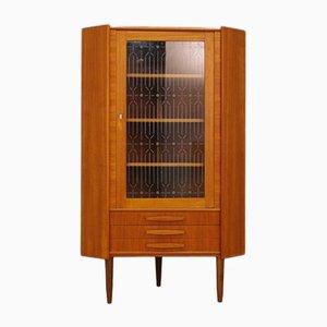 Mueble esquinero danés vintage de teca de P. Rimme