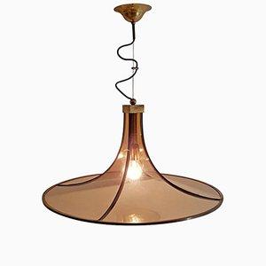 Lámpara colgante Pagoda de Esperia, años 60