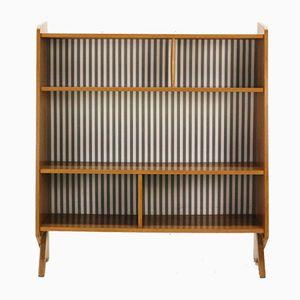 Bücherregal aus Eschenholz von Ilse Möbel, 1950er