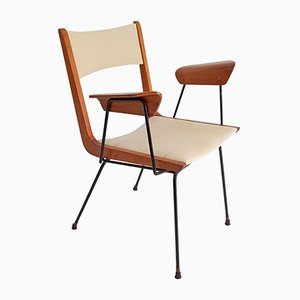 Boomerang Schreibtischstuhl von Carlo Ratti, 1950er