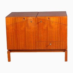 Mueble bar plegable de Dyrlund, años 60