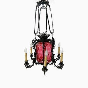 Lámpara de araña antigua