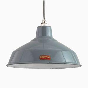 Lampada vintage smaltata di Ediswan, anni '50