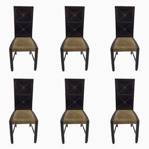 Antike Wiener Stühle, 6er Set