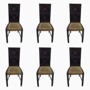 Antique Viennese Chairs, Set of 6