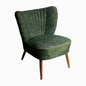 Mid-Century Green Cocktail Chair