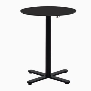 Oxi Outdoor Black Table with HPL Top by Mobles114