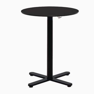 Tavolo Oxi nero con ripiano HPL di Mobles114