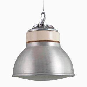 Industrielle Fabriklampe von Simplex, 1950er