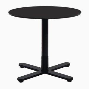 Petite Table Ronde Oxi Noire en HPL par Mobles114