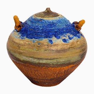 Jarrón de cerámica de Mercé Alabern, años 70