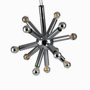 Sputnik Lampe aus Chrom von Gaetano Sciolari für Boulanger, 1970er