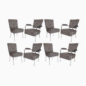 Club chair, anni '50, set di 4