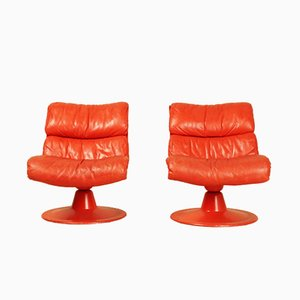 Saturn Chairs by Yrjö Kukkapuro for Haimi, 1970s, Set of 4