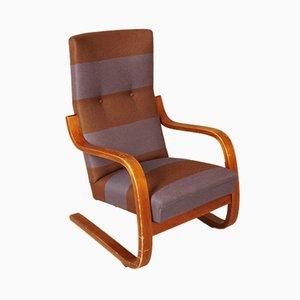 Modell 401 Armlehnstuhl von Alvar Aalto für Artek, 1930er
