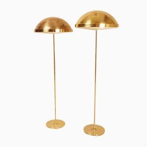 Schwedische Stehlampen von Bergboms, 1960er, 2er Set
