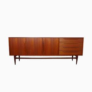 Model 124 Sideboard aus Teak von Heinrich Riestenpatt für RT Möbel, 1960er