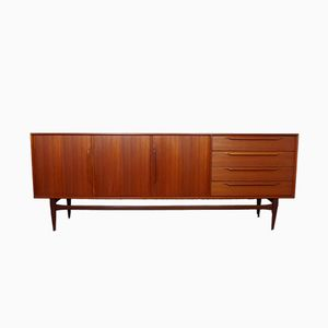 Model 124 Teak Sideboard by Heinrich Riestenpatt for RT Möbel, 1960s