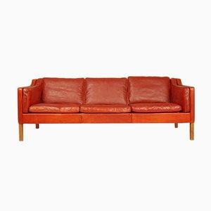 Modell 2213 3-Sitzer Sofa von Børge Mogensen für Fredericia, 1970er