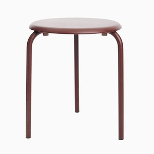 Chestnut Brown Tube Table by Mobles114