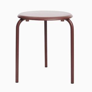 Kastanienbrauner Tube Tisch von Mobles114