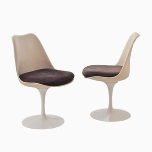 Chaises Tulipe Vintage par Eero Saarinen pour Knoll International, Set de 2