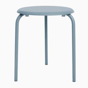 Table Tube Bleu Gris par Mobles114