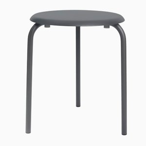 Grey Anthracite Tube Taula Table by Mobles114