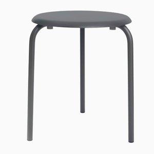 Tavolino Tube Taula grigio antracite di Mobles114