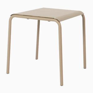 Olive Grey Tube Square Table by Mobles114
