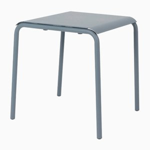 Blue Grey Tube Square Table by Mobles114