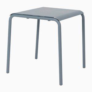 Graublauer Tube Square Tisch von Mobles114