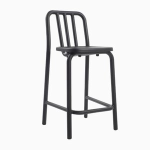 Tube Stool in Black by Mobles114