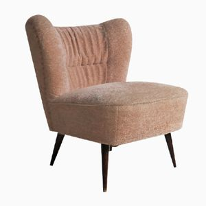 Mid-Century Pink Cocktail Chair, 1950s